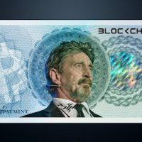"""「もう仮想通貨には""""投資""""しない」心変わりしたマカフィー発言の真意"""