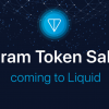 テレグラムの独自仮想通貨Gram、7月10日に国内大手QUOINEが運営する海外Liquidで販売開始|関連銘柄QASHが高騰