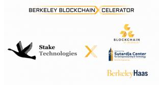 日本初!アメリカの名門大学 UC Berkeleyの主催するブロックチェーンアクセラレーションプログラムにステイクテクノロジーズが採択