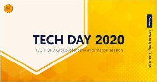 テクノロジーアクセラレーターのTECHFUNDが、 設立記念日の10月9日「テックの日」に会社説明会「TECH DAY 2020」を開催!